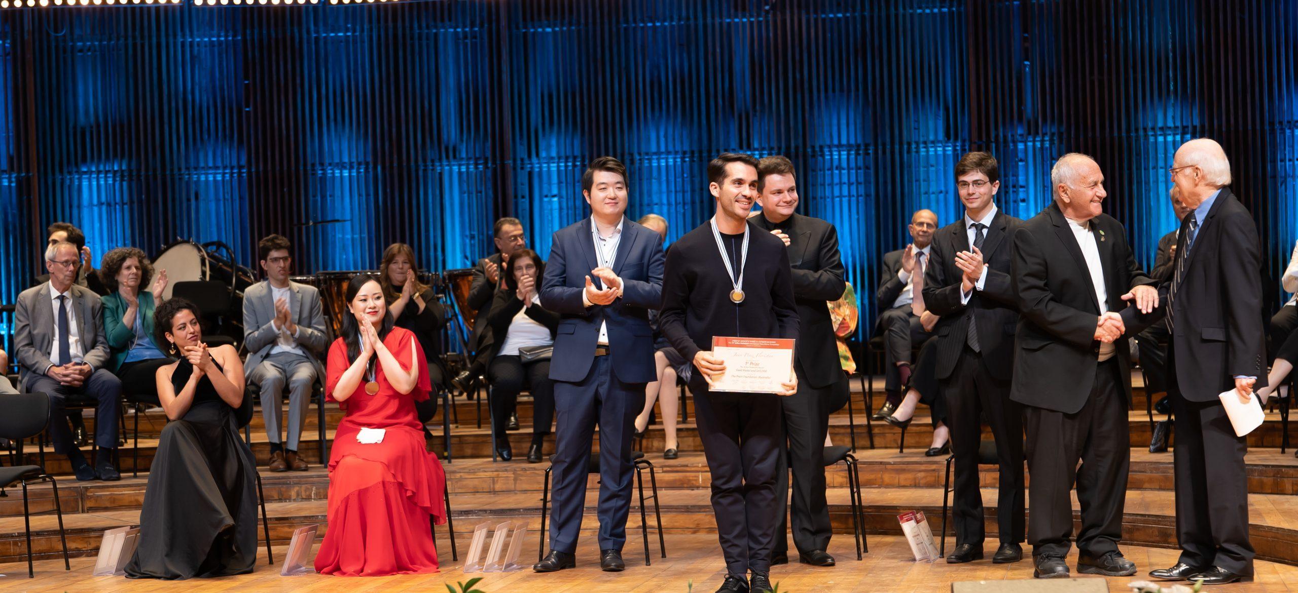 Primer premio Concurso Arthur Rubinstein 2021